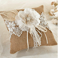 Ring Pillow and Pouch