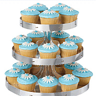 Wedding Cake Plates, Cake Boxes and Cake Charms